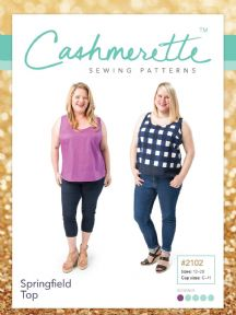 Springfield Top - Cashmerette Sewing Pattern